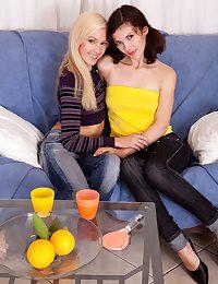 Sweet nude lesbians