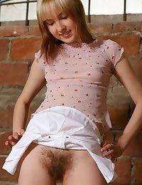 Staggering Hairy Babe