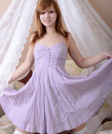 Teen stripping dress