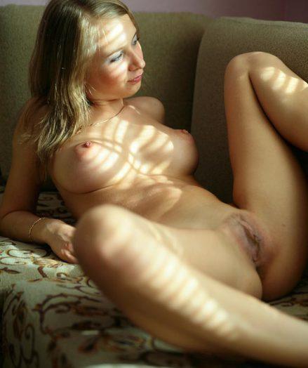 Incredible Blonde Lady