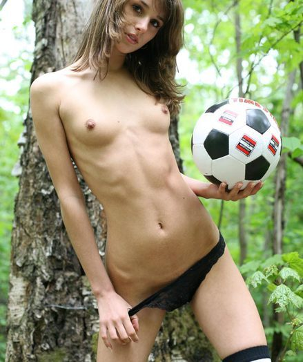 Horny soccer player